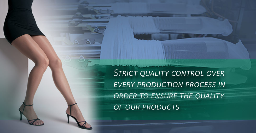Strict quality control over every production process in order to ensure the quality of our products